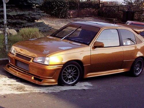 Opel Kadett Gsi Tuning. Ukázkové GSI-čko zaslal Michal